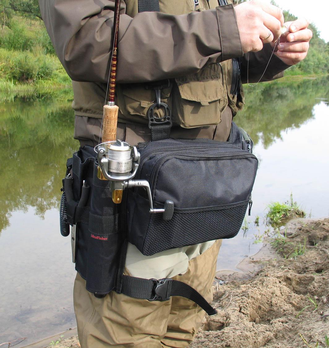Как сшить сумку для рыбака 41