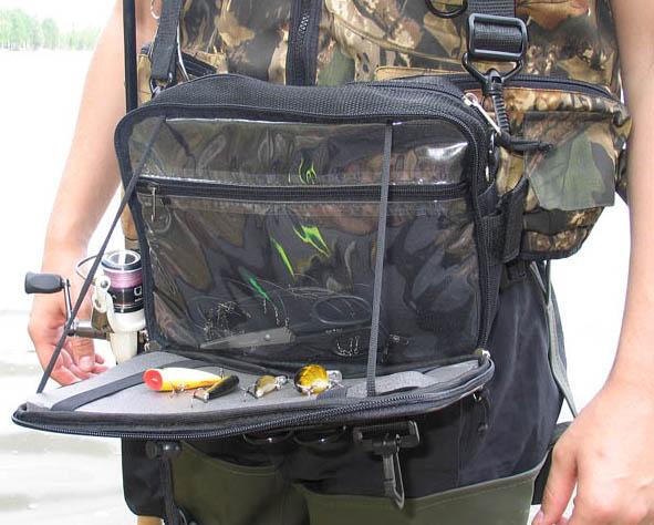 """Самобранец 1 рыболовная сумка со """"столом"""" для уловистых приманок"""