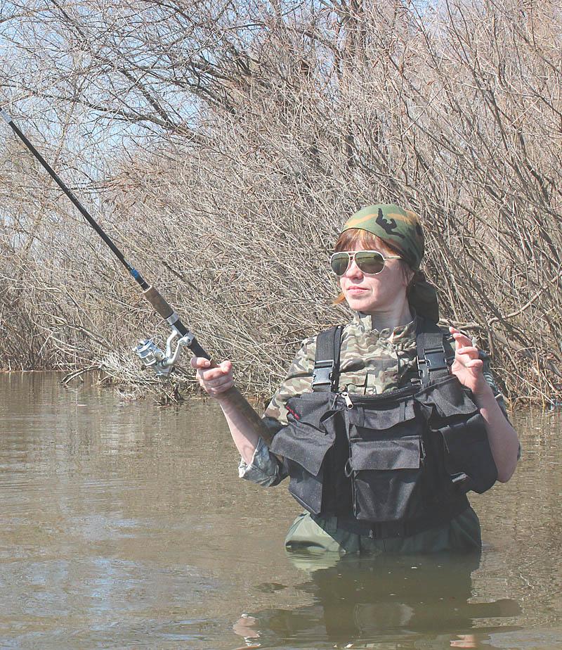 Сумка для забродной или нахлыстовой рыбалки