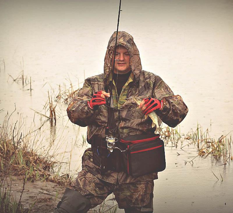 stakan3 Использование держателя удилища Stakan 3+ Сумки спиннингиста в боевых условиях рыбалки