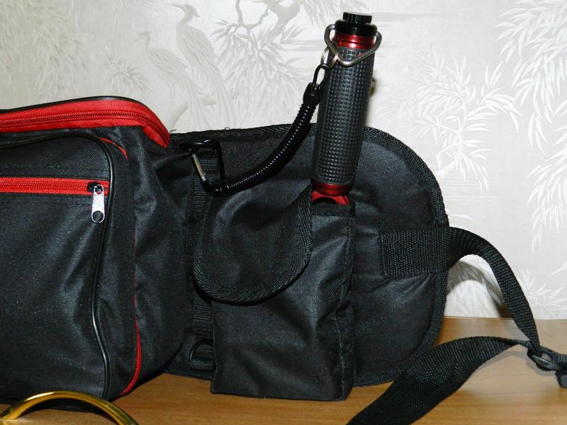 Держатель удилища сумка спиннингиста для рыбалки stakan3