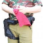НОВИНКА! Sixstories 2013 Рыболовное полотенце с чехлом