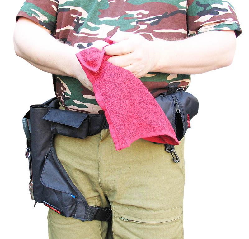Sixstories 2013 Рыболовное полотенце с чехлом от ideaFisher