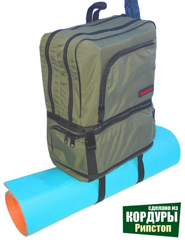РыбZak 20 Рюкзак - слинг для ходовой рыбалки из кордуры с рипстоп!