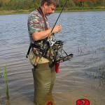 Stakan 3.2 ideaFisher держатель удилища + рыболовная сумка спиннингиста